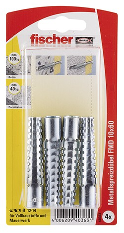 Metallspreizdübel FMD 10x60 K (4)