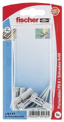 Plattendübel PD 8 S K (5)