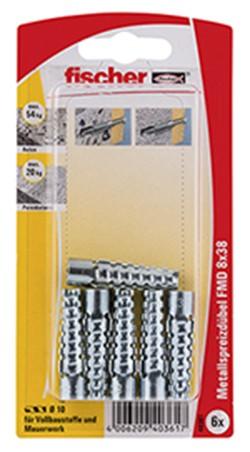 Metallspreizdübel FMD 8x38 K (6)