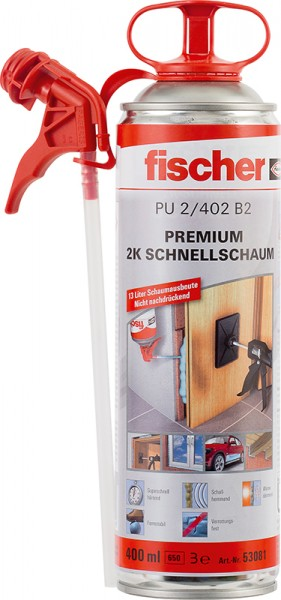 Premium 2K-Schnellschaum PU 400