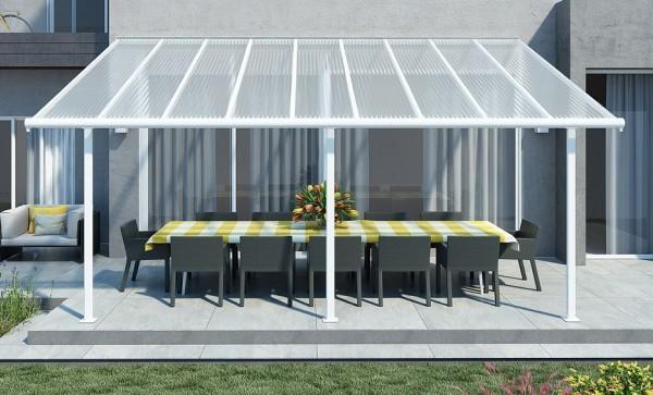Aluminium Terrassendach 3 x 5,46 m