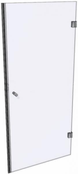 """Rahmenlose Glas-Duschabtrennung / Duschkabine """"Tür"""""""