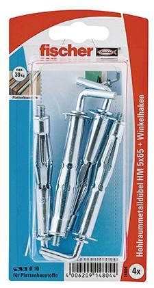 Hohlraum-Metalldübel HM 5x65 H K (4)
